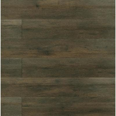 Bralton Oak 7.13 in. W x 48.03 in. L Rigid Core Click Lock Luxury Vinyl Plank Flooring (23.77 sq. ft./case)