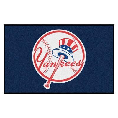 MLB - New York Yankees 5 ft. x 8 ft. Ulti-Mat Area Rug