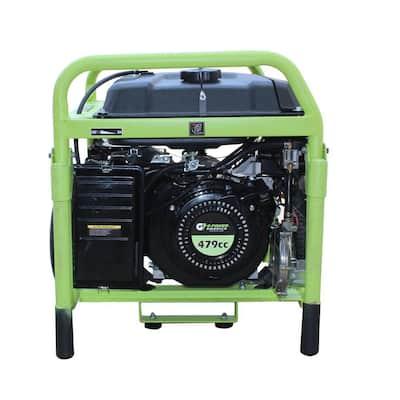 13000-Watt Electric Start Gasoline/Propane Portable Generator with CO Detector