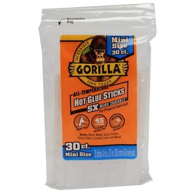 4 in. Mini Hot Glue Sticks (30-Count)