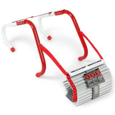 13 ft. Long 2-Story Escape Ladder, 1,000 lb. Load Capacity