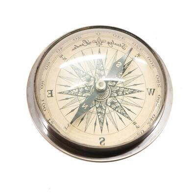 Ariyah Large Eye Compass in Brass