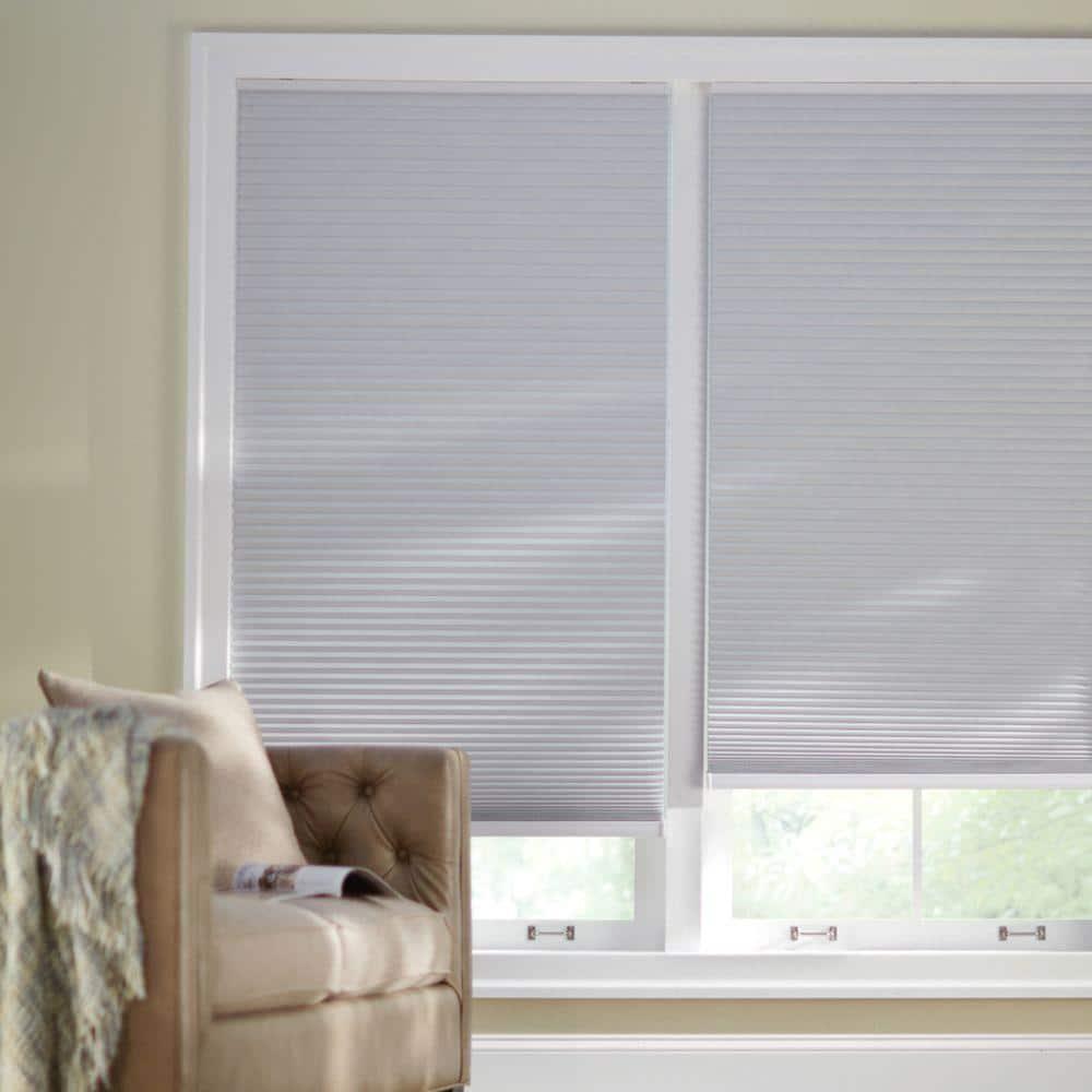 63x48 en Blanc sans fil Faux Bois aveugles salle de noircissement Home Privacy Window Shade