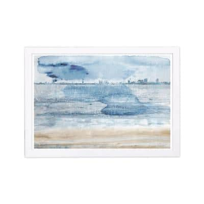 """Cities and Skylines """"Miami Bay"""" Framed Art Print 13 in. x 19 in."""