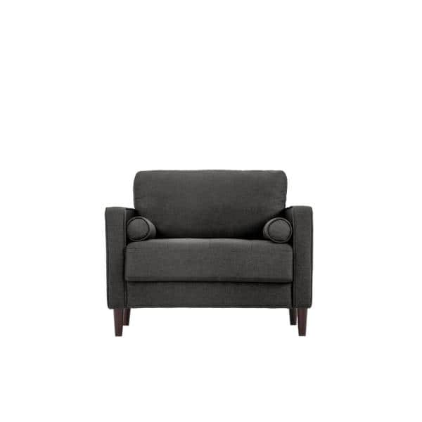 LifeStyle Solutions Jareth King Chair in Heather Gray