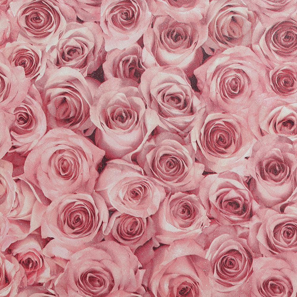 Arthouse Rose Wall Raspberry Vinyl Wallpaper 297108 The Home Depot