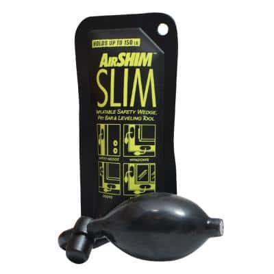 AirShim Slim Inflatable Pry Bar and Leveling Tool that Holds up to 150 lbs.