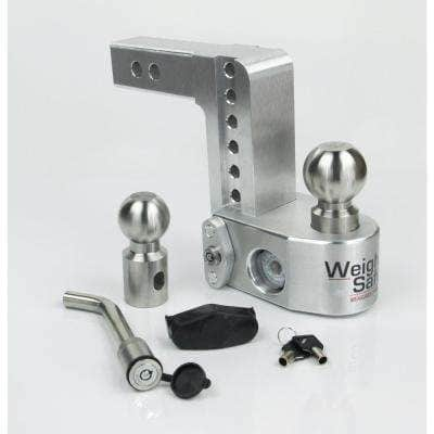 6 in. Drop Adjustable Class V Ball Mount