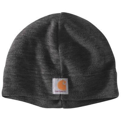 Men's OFA Black/Steel Space Dye Polyester Fleece Hat