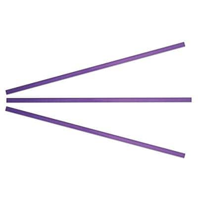 Lilac 3/8 in. x 15 in. Glass Pencil Tile Trim (3-Pack)