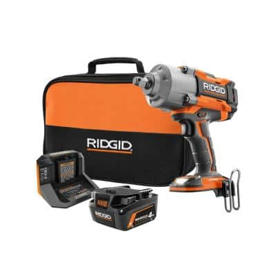 18V OCTANE Brushless Cordless 1/2 in. High Torque 6-Mode Impact Wrench Kit with (1) 4.0 Ah Battery and Charger