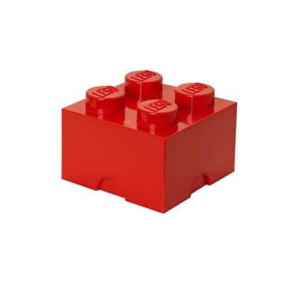 Bright Red Stackable Box