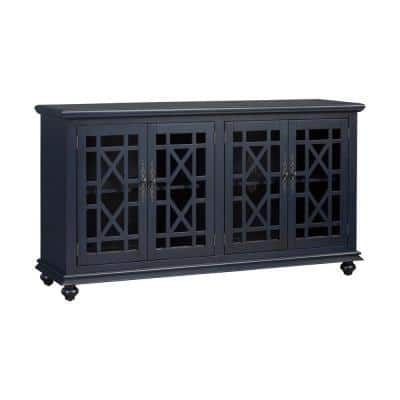Blue Tv Stands Living Room Furniture The Home Depot