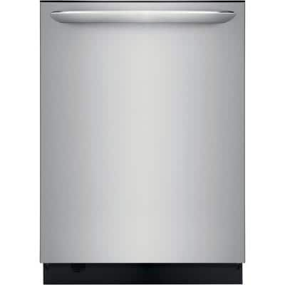 24 in. Smudge Proof Stainless Steel Built-In Tall Tub Dishwasher with Dual OrbitClean Spray Arm ENERGY STAR, 49 dBA