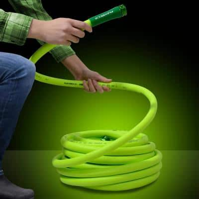 5/8 in. x 100 ft. ZillaGreen Garden Hose with 3/4 in. GHT Fittings