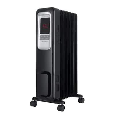 1,500-Watt Digital Electric Oil-Filled Radiant Portable Space Heater