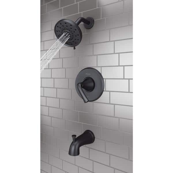 Chrome 6 Piece LASCO S-833-3 4868614 Price Pfister B Broach Hot or Cold Tub and Shower Old Style Stem Assembly