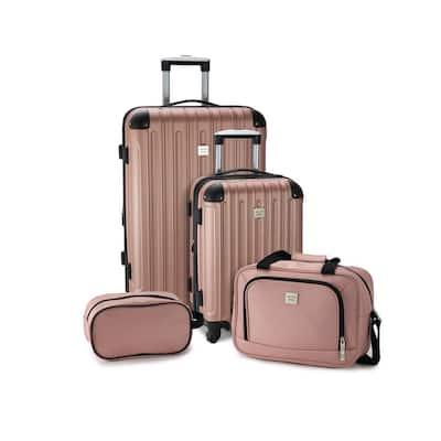 Colorado 4-Piece Blush Luggage Set
