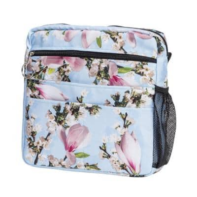 Universal Mobility Tote in Blue Floral
