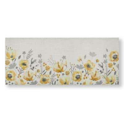 Summer Meadow Printed Canvas Nature Wall Art 40 in. x 16 in.