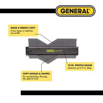 10 in. Contour Gauge Profile Tool and Duplicator