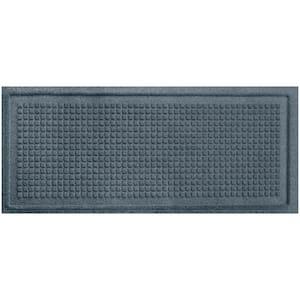 Aqua Shield Squares 15 in. x 36 in. Boot Tray Bluestone