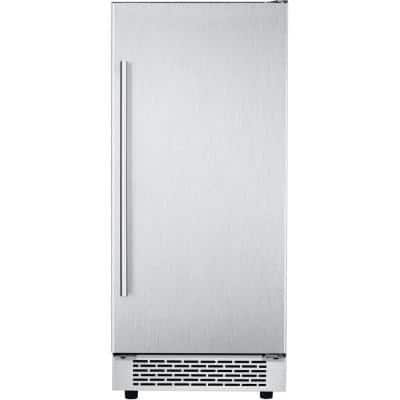 Library Series 32 lb. Built-In/Freestanding Ice Maker in Stainless Steel