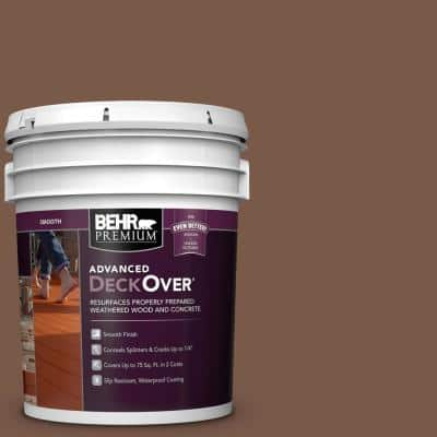 5 gal. #SC-135 Sable Smooth Solid Color Exterior Wood and Concrete Coating