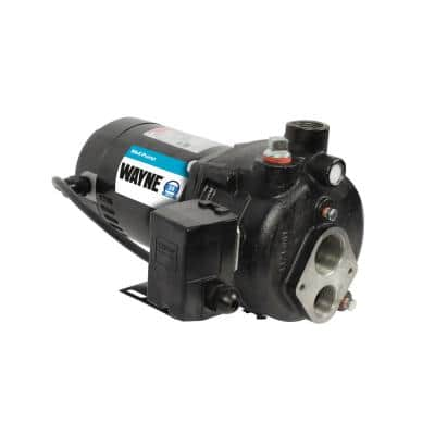 Upgraded 3/4 HP Cast Iron Convertible Well Jet Pump