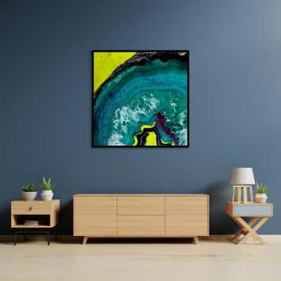 """""""Geode III"""" by Chandler Chase Framed Canvas Wall Art"""