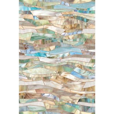24 in. x 36 in. Terrazzo Decorative Window Film