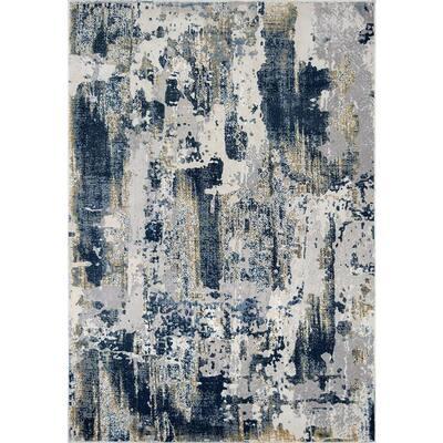 Auden Sapphire Blue 5 ft. x 7 ft. Area Rug