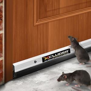 36 in. Commercial Rodent Proof Door Sweep, Aluminum