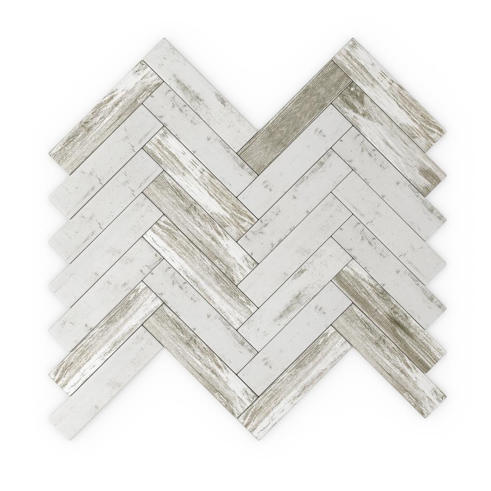 Inoxia SpeedTiles Rustica Gray 12.20 in. X 11.57 in. X 5mm Glass Peel and Stick Wall Mosaic Tile (0.92 sq. ft./Each)