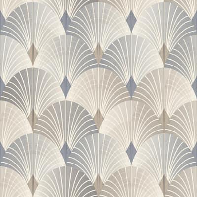 Pigalle Multicolor Fan Multicolor Wallpaper Sample