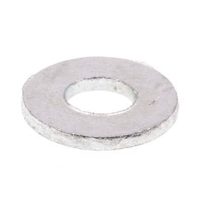 1/4 in. x 47/64 in. O.D. USS Hot Galvanized Steel Flat Washers (50-Pack)