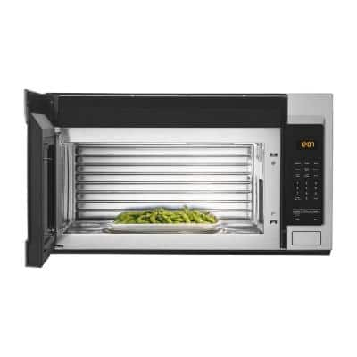 1.7 cu. ft. Over the Range Microwave with Stainless Steel Cavity in Fingerprint Resistant Stainless Steel
