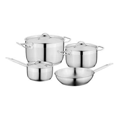 Essentials Hotel 7-Piece Stainless Steel Cookware Set