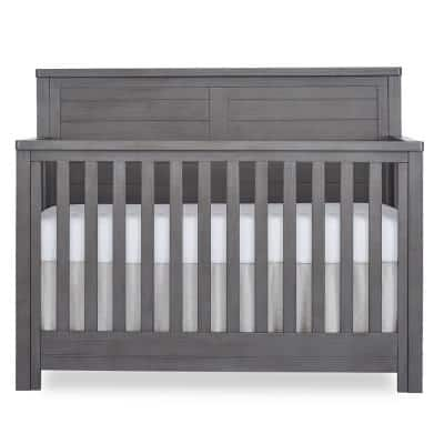 Belmar Rustic Grey Flat 5-in-1 Convertible Crib