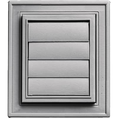 Square Exhaust Siding Vent #016-Gray