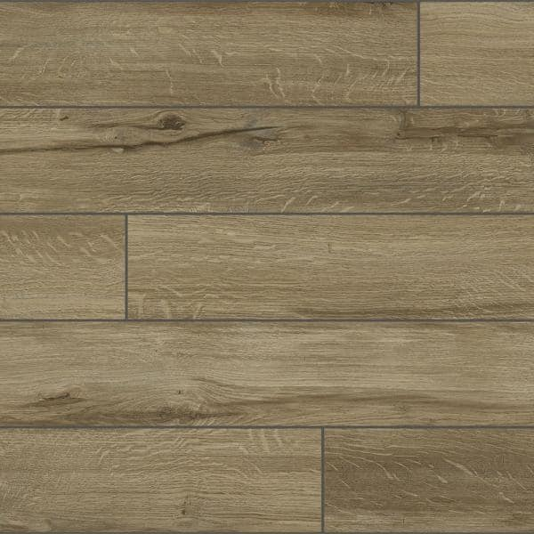 Home Decorators Collection Almond Cream 7 5 In W X 47 6 In L Luxury Vinyl Plank Flooring 24 74 Sq Ft S79319 The Home Depot
