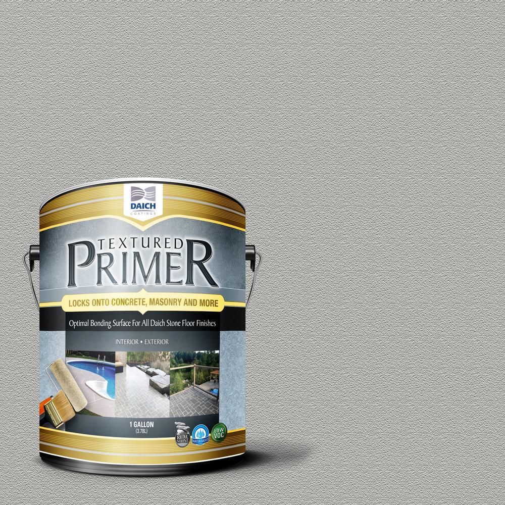 Textured 1 gal. Dolphin Gray Interior Exterior Bonding Primer Penetrating Anti-Slip