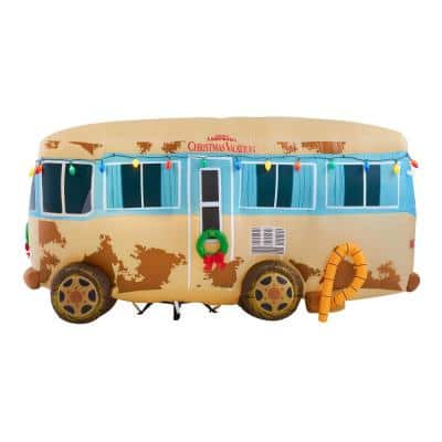 4 ft. Pre-Lit LED National Lampoon's Christmas Vacation RV with Light String Christmas Inflatable