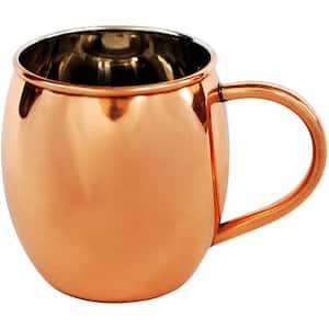 Copper and Nickel Lining 16 oz. Smooth Barrel Mug