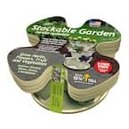 Plastic Stackable Garden Planter