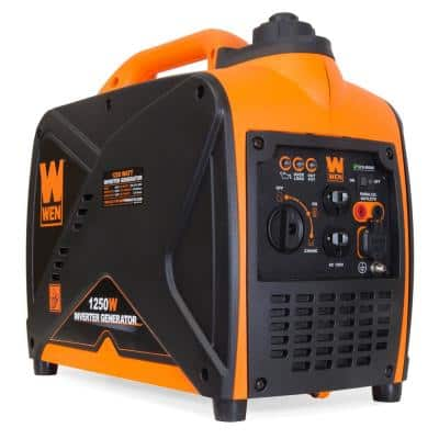1250-Watt Gas-Powered Inverter Generator CARB Compliant