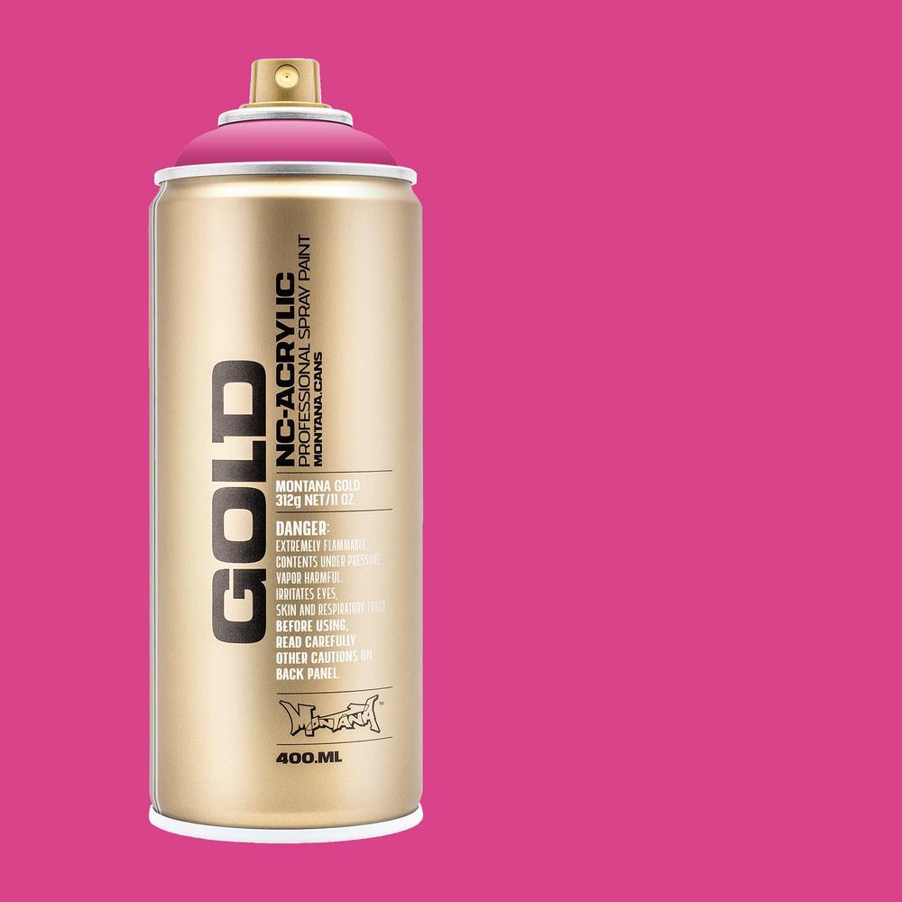 11 oz. GOLD Spray Paint, Pink Pink