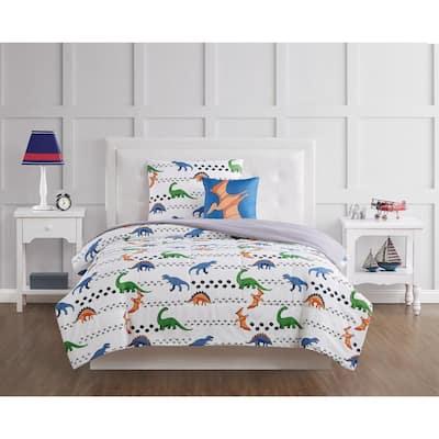 Dino Tracks Comforter Set