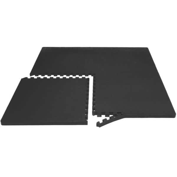 Puzzle Exercise Mat with 12 Tiles Interlocking Foam Mats 24/'/' x 24/'/' ½/'/' Thic...