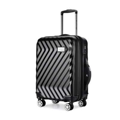 Luggage Tech Monaco Collection 28 in. Smart Luggage - Black